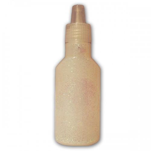 White Glitter glue