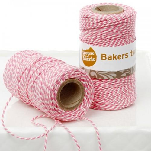 Bakers Twine - Pink - 20 m