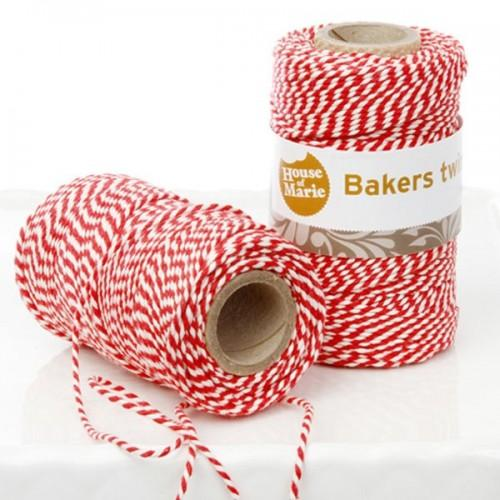 Bakers Twine - Red - 20 m
