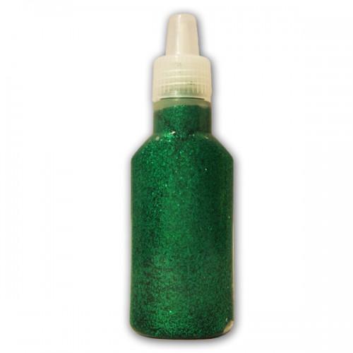 Green Glitter glue