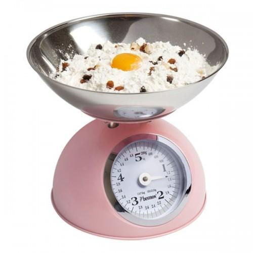 Vintage kitchen scale 5 kg - pink