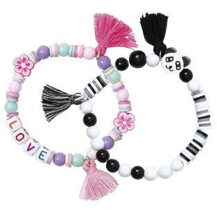2 kits de fabrication de bracelets -...
