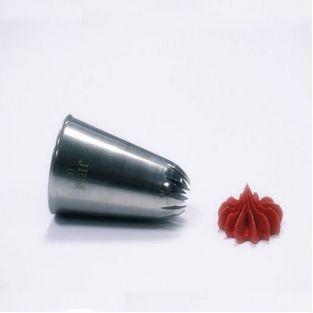Douille pâtissière inox - Fleur