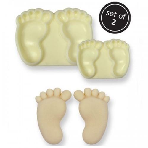Cake pans - Baby Feet Set/2