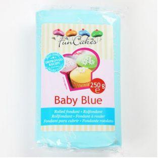 Pâte à sucre bleu clair 250 g
