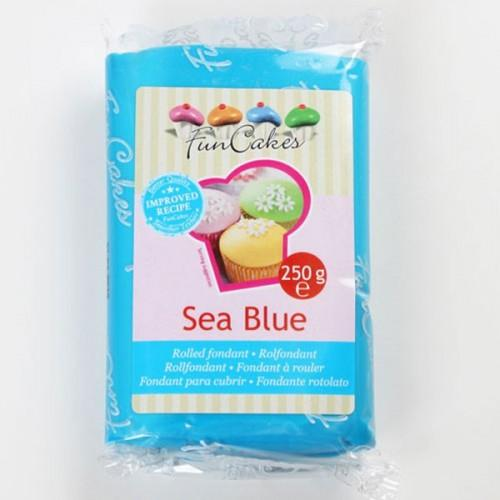 Fondant 250 g - Sea Blue