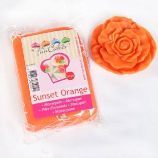 Marzipan Sunset Orange - 250 g