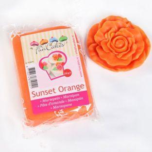 Pâte d'amandes orange 250 g