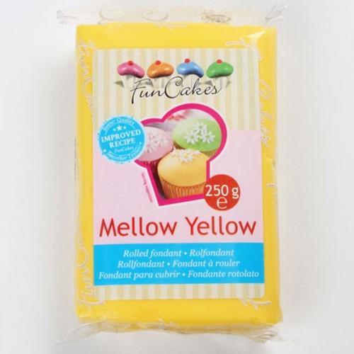 Pâte à sucre orange melon 250 g
