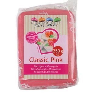 Pâte d'amandes rose 250 g