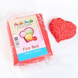 Fondant 250 g - Fire Red