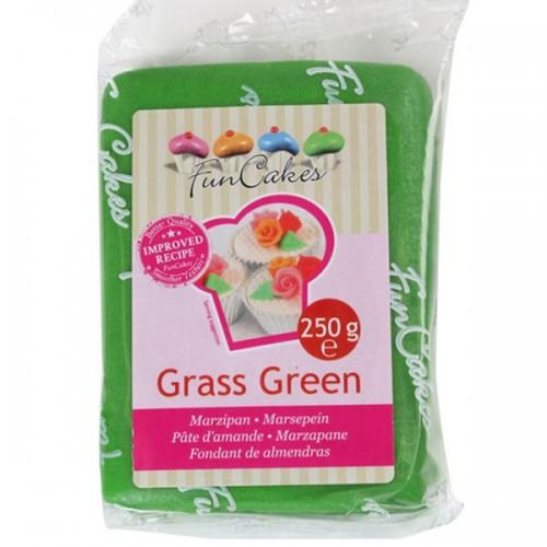 Pâte d'amandes vert prairie 250 g