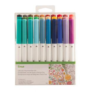 30 feutres multicolores à pointes...
