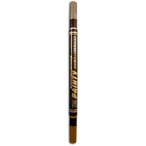 Multisurface double tip pen - gold & silver