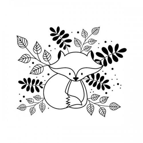 Tampon bois - Renard