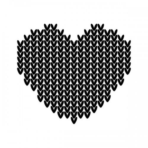 Wooden stamp - Mini hearts