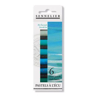 Pastel case - 6 half pastels -...