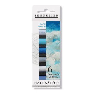 Pastel case - 6 half pastels - Summer...