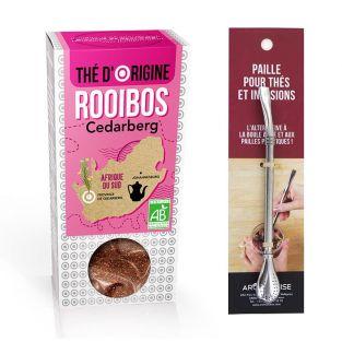 Tè Rooibos Cedarberg + cannuccia in...