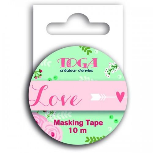 Masking tape Love