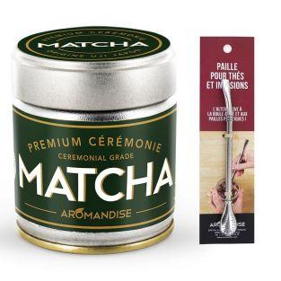 Premium Matcha Ceremony green tea 30...