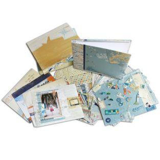 Kit scrapbooking - Reisen