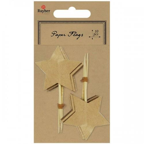 10 star pikes - light brown