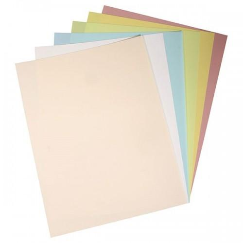 6 shrinkable films, 6 pastel colors