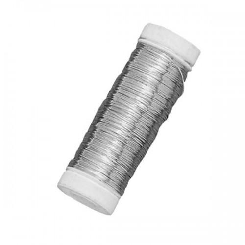 Plateado alambre de cobre - en plata