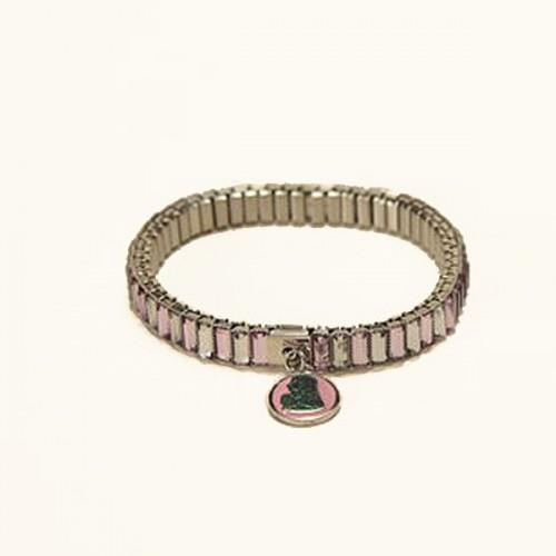 Pink Bracelet metal links