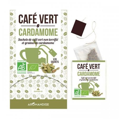 Café vert Cardamome - 20 sachets