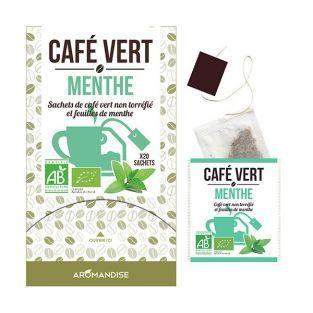 Café vert Menthe - 20 sachets