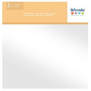 20 fogli di carta acetata trasparente...