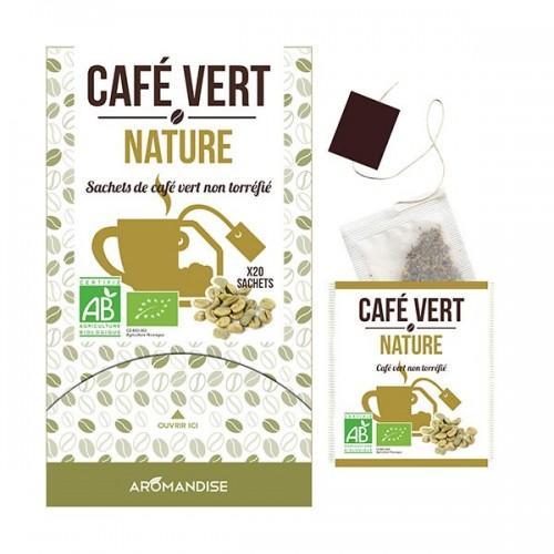 Green coffee Nature - 20 sachets