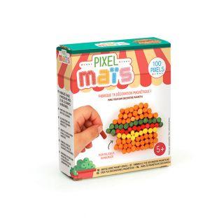 Magnet junk food en pixel maïs -...