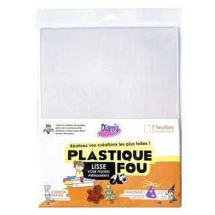 Plastique fou - 7 feuilles cristal