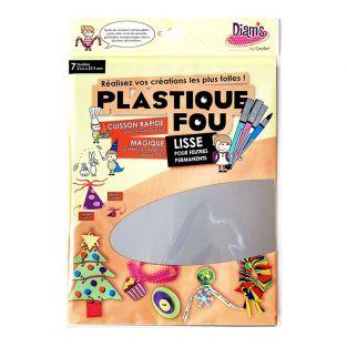 Set 7 hojas metálicas - Plastique fou...