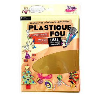 Set 7 Metallfolien - Plastique fou...