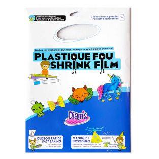 Plástico loco - 7 hojas transparentes...