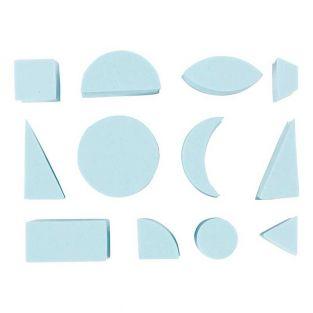 12 foam pads EVA - Geometric shapes