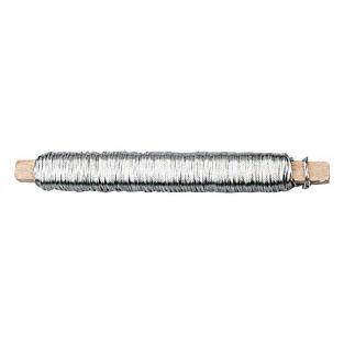 Silver wire for floral decorations 50 m