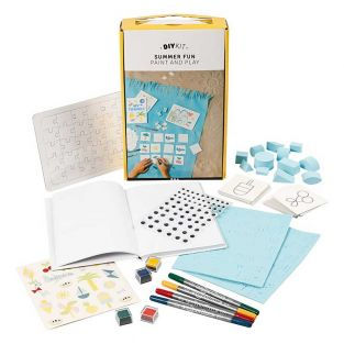 DIY kit - Puzzle, notebook and game...