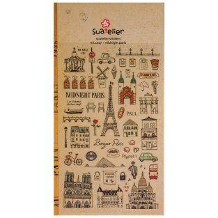Stickers Midnight Paris