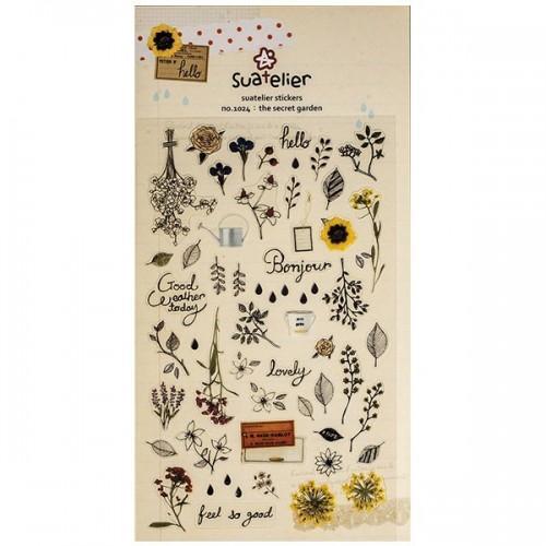 Stickers The Secret Garden