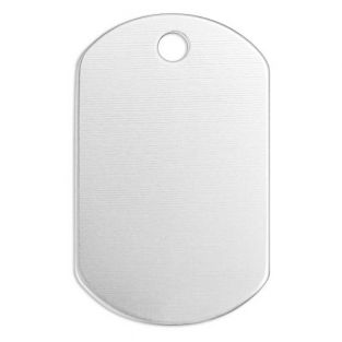 13 plaques aluminium - 30 x 20 mm
