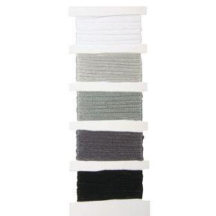 Cotton yarn for friendship bracelet - grey