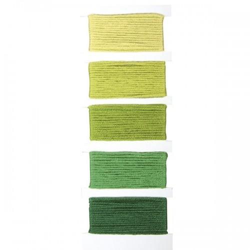 Cotton yarn for friendship bracelet - green
