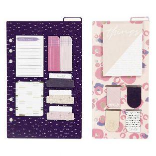 Memo kit, glider journal - Purple