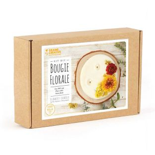 Make floral candles - DIY box