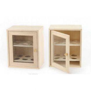 Wooden egg cupboard - 12 slots
